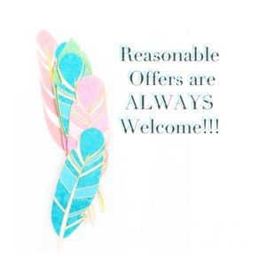 I will accept Reasonable offers!!! No lowballs!